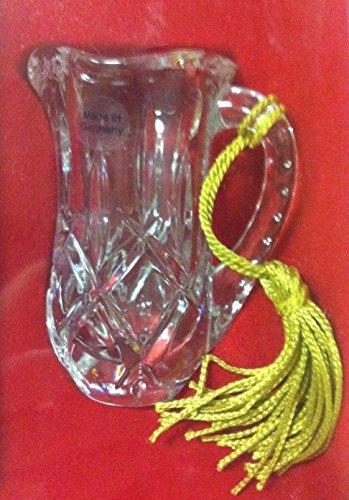 Gorham CRYSTAL PITCHER Crystal Christmas Ornament (