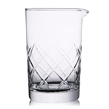 Hiware Mixing Glass 24oz/700ml Thick Bottom Cocktail Glass Preferred by Pros and Amateurs Alike, Make Your Own Specialty Cocktails