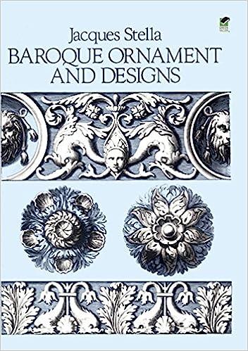 amazoncom baroque ornament and designs dover pictorial archive 0800759253784 jacques stella books