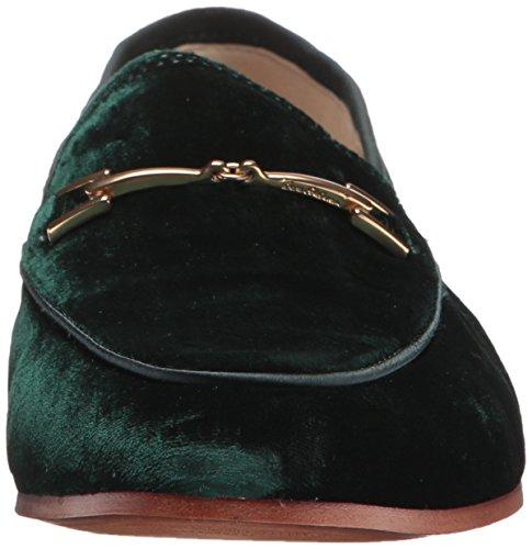 Sam Edelman Womens Loraine Loafer Velluto Verde Smeraldo