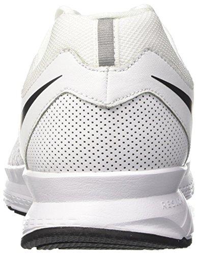 Nike Air Obevekliga 6 Vit / Svart Mens Löparskor - 12,5