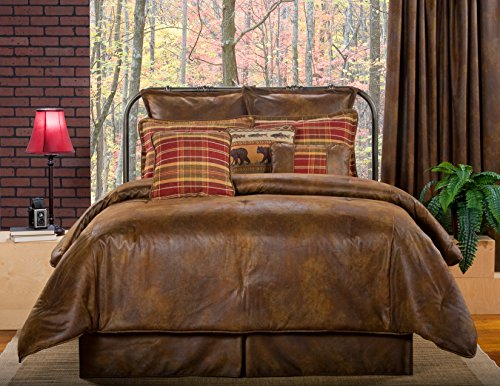 Victor Mill - Victor Mill Gatlinburg King Size Comforter Set,