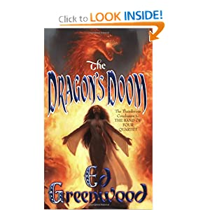 The Dragon's Doom (Band of Four, Book 4) Ed Greenwood
