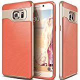 Galaxy S6 Edge Plus Case, Caseology® [Wavelength Series] Textured Pattern Grip Cover [Pink] [Shock Proof] for Samsung Galaxy S6 Edge Plus (2015) - Pink