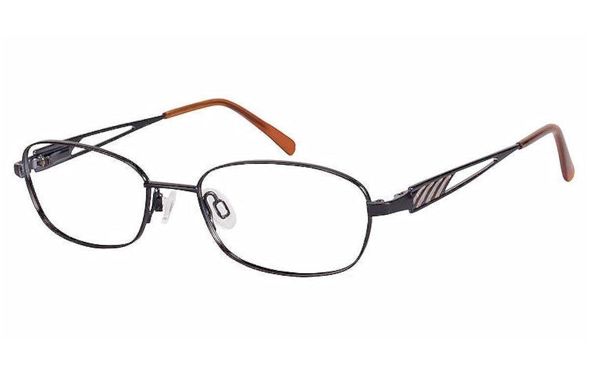 Aristar By Charmant Eyeglasses AR16361 AR//16361 538 Black Optical Frame 48mm