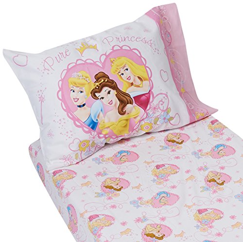 Disney Princess Castle Dreams 2-Piece Sheet Set (Toddler - Castle Sleeping Beauty Dreams