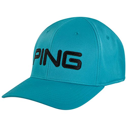 (PING TOUR STRUCTURED HAT 2018- TURQUOISE S/M)