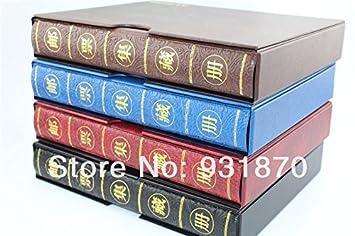 Moneda collection Newwholesale álbum de fotos, compatible con billetes archivador, sindicatos tratando de portadas de discos de fabricación dinero: ...