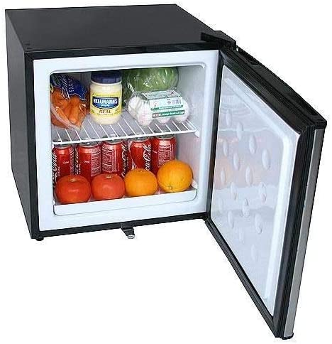 EdgeStar 1.1 Cu. Ft. Convertible Refrigerator or Freezer w/Lock - Stainless Steel 31h8VFF9hbL