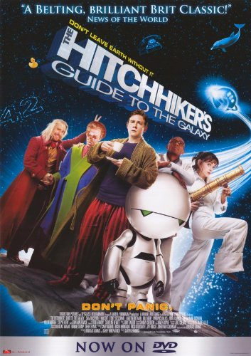 The Hitchhiker's Guide to the Galaxy Poster Movie B Martin Freeman Mos Def Sam