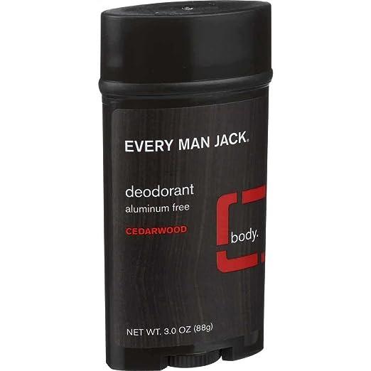 Every Man Jack Deodorant Cedarwood 3 oz