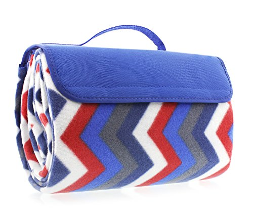 Juvale Picnic Blanket Waterproof Backing - Picnic Blanket