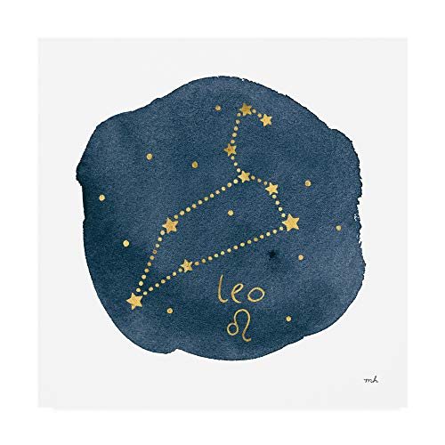Trademark Fine Art Horoscope Leo by Moira Hershey, 14x14 ()