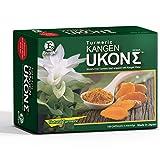 Kangen UKON Organic 650mg Turmeric Oil Capsules with Niacin Flaxseed Primrose Olive Oil Concentrated Anti-Oxidizing Super Vitamin E Zinc Magnesium 100 Capsules
