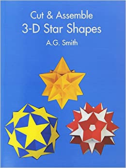 Book Cut & Assemble 3-D Star Shapes (Dover Children's Activity Books)