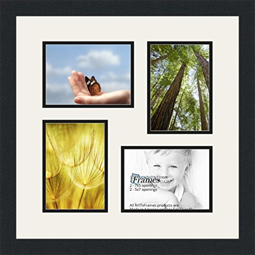 ArtToFrames Double-Multimat-179-61/89-FRBW26079 Collage Phot
