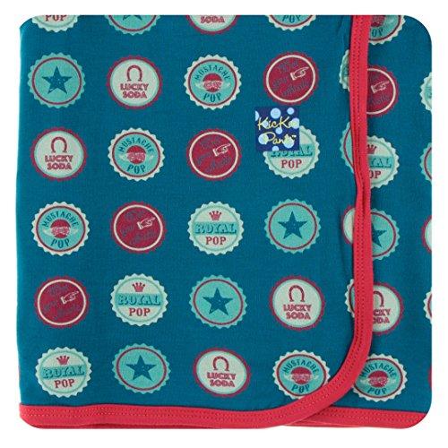 Infant Crib Caps - Kickee Pants Little Boys Print Swaddling Blanket - Soda Pop Caps, One Size