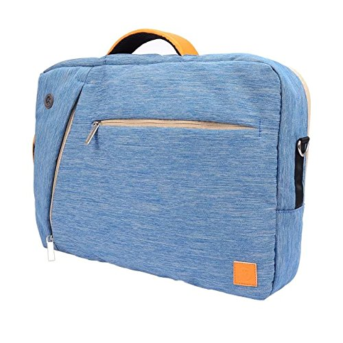 VanGoddy 3 in 1 Shoulder Bag Backpack and Messenger Bag for Lenovo LaVie Z/ThinkPad X240 / ThinkPad Yoga 12.5 13.3-inch Laptops(Blue)