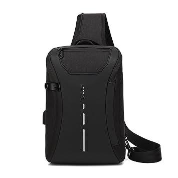 Bolso bandolera pequeña mochila bandolera para hombre mujer: Amazon.es: Deportes y aire libre