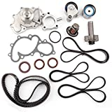Scitoo Timing Belt Water Pump Gasket Hydraulic Tensioner Kit Fits 1995-2004 Toyota Tacoma Tundra 4Runner T100 3.4L 5VZFE