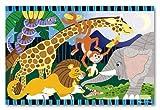Safari Social: 24-Piece Floor Puzzle + FREE Melissa & Doug Scratch Art Mini-Pad Bundle [44233]