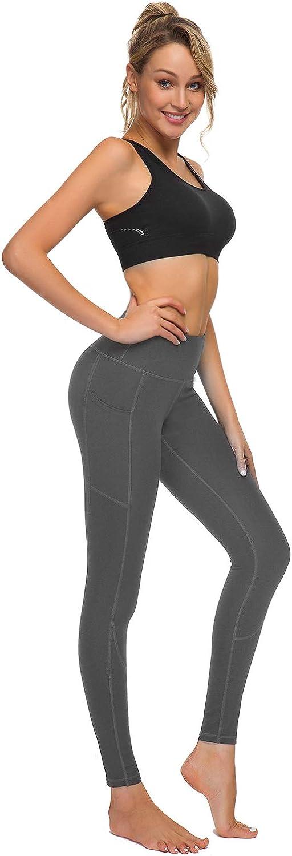 HOFI High Waist Yoga Pants for Women Side /& Inner Pockets with Tummy Control