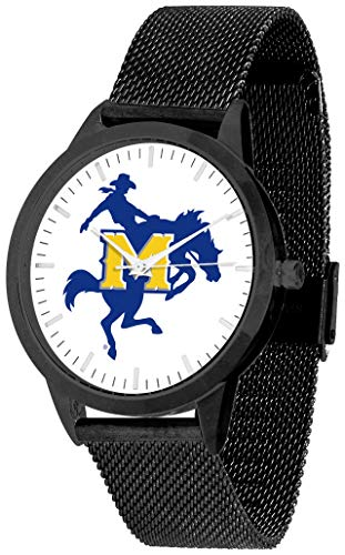 Mcneese State Watch - McNeese State Cowboys - Mesh Statement Watch - Black Band - Black Dial