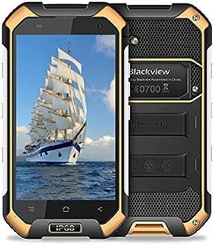 Teléfono Inteligente Blackview, teléfono de Doble Tarjeta BV6000 ...