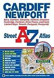 img - for Cardiff & Newport Street Atlas (A-Z Street Atlas S) book / textbook / text book