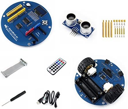 CQRobot Alphabot2 Robot Accessory Pack for Arduino (No Arduino Controller), Features Rich Common Robot Functions: Line Tracking, Obstacle Avoiding, Ultrasonic Ranging, Infrared Remote Control, Etc.: Amazon.es: Electrónica