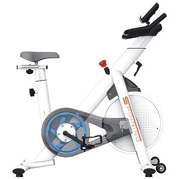 HLEZ Bicicleta estática Profesional, Disco de inercia de 7.5Kg con ...