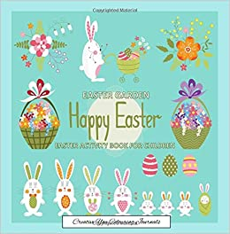 Easter garden creative you colouring journals easter coloring easter garden creative you colouring journals easter coloring books for kids and easter activity book for children in all department easter coloring negle Image collections