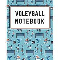 VOLEYBALL NOTEBOOK: Sport notebook, Motivational , Journal, Diary