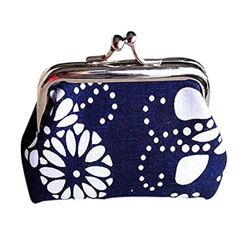 Purse Hasp Clearance Wallet fossil Noopvan B Coin Wallet Clutch wallet Vintage 2018 Bag Retro Mini Lady 0zAwq0W4