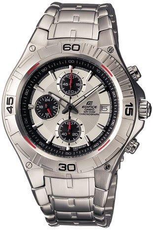 7a Edifice Mens Watch (Casio #EF520D-7AV Men's Edifice Stainless Steel Chronograph Sports Watch)