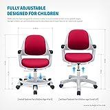 Children Desk Chair Kids Student Study Easy to