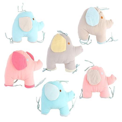 non-brand Sharplace 6 Piezas Cojín Infantil de Elefante ...