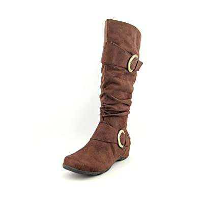 26609c27d652 Journee Collection Brown Jester Tall Boots - Women