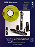 img - for Advanced Clarinet Solos Vol. Ii (Harold Wright) Book/CD (Music Minus One (Numbered)) book / textbook / text book