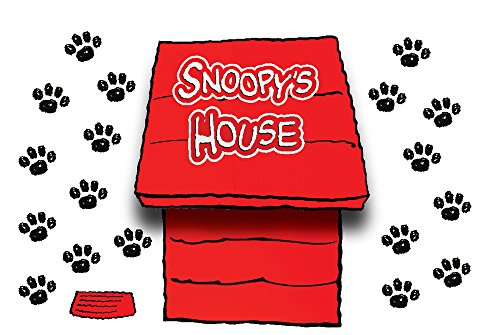 Eureka Giant Peanuts Dimensional Dog House Bulletin Board Sets (847601)