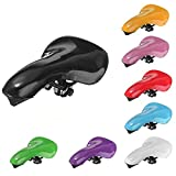 Bicycle Bike Saddle Seat Retro Vintage Road Cycling Fixed Gear Cover ( Yellow )