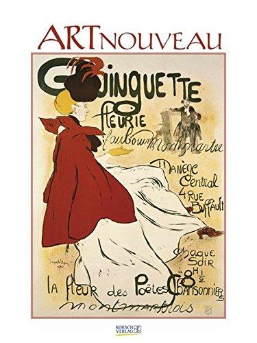 Art-Nouveau-Plakate 2017: Kunst Gallery Kalender