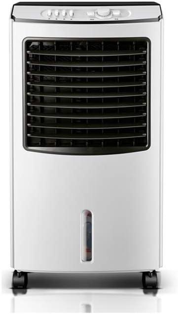 ポータブル蒸発エアコンタワーコールドエアクーラーファンモバイルエアコンタイミング 冷凍加湿広角エア供給 (Color : Black)