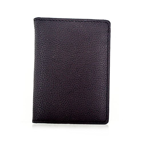 Faddism YL Simple Series Men's Leather Compact L-fold Wallet WLT-Y-739 Brown