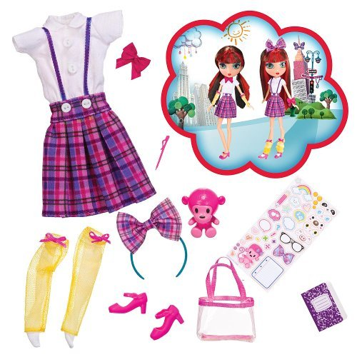 La Dee Da Fashion Accessory Pack School Cool - Dee (La Dee Da Doll Clothes)