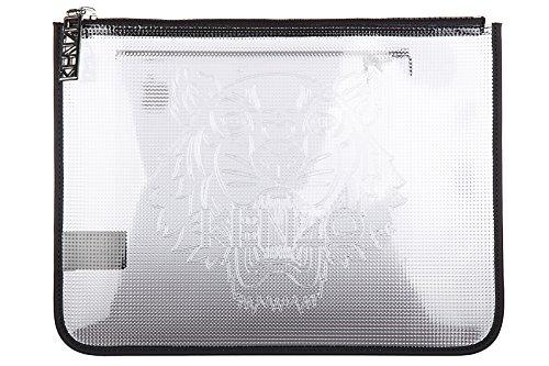 Kenzo Pochette Handtasche Damen Tasche Clutch NeuGrau