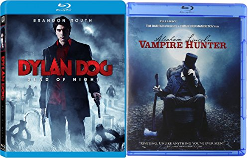 Abraham Lincoln: Vampire Hunter & Dylan Dog: Dead of Night Demons Blu Ray Horror Movie Set