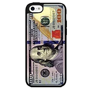 100 Dollar Bill Money Hard Snap on Phone Case (iPhone 5c)