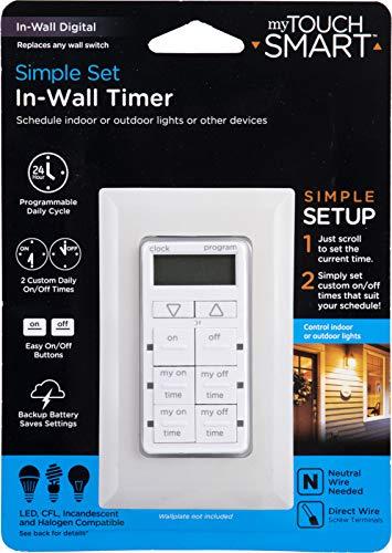 Mytouchsmart InWall Digital Timer