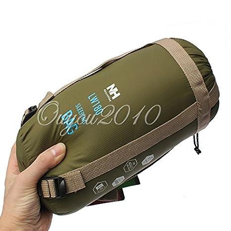 Yougle Mini sobre al aire libre único rectangular saco de dormir Saco para Camping viaje senderismo